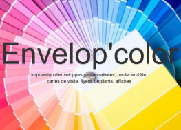 Site Web responsive de Envelop'Color